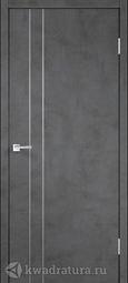 Межкомнатная дверь VellDoris Techno М2 Муар темно-серый