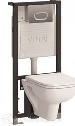 Инсталляция в комплекте безободковый Vitra S20