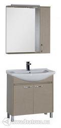 Набор мебель для ванной Aquanet Донна 80 светлый дуб