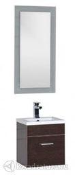 Набор мебель для ванной Aquanet Нота 40 лайт венге