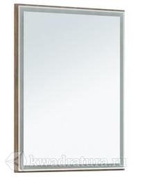 Зеркало Aquanet Nova Lite 60 LED дуб рустикальный
