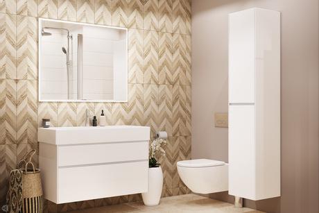 Ванная комната в эко-стиле
