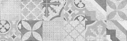 Настенная плитка Cersanit Terrazo пэчворк серый 20х60 см