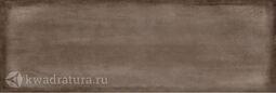 Настенная плитка Cersanit Majolica коричневая 20х60 см