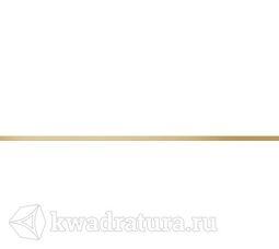 Бордюр Cersanit металлический декорированный золотом 1х60 MT1L382